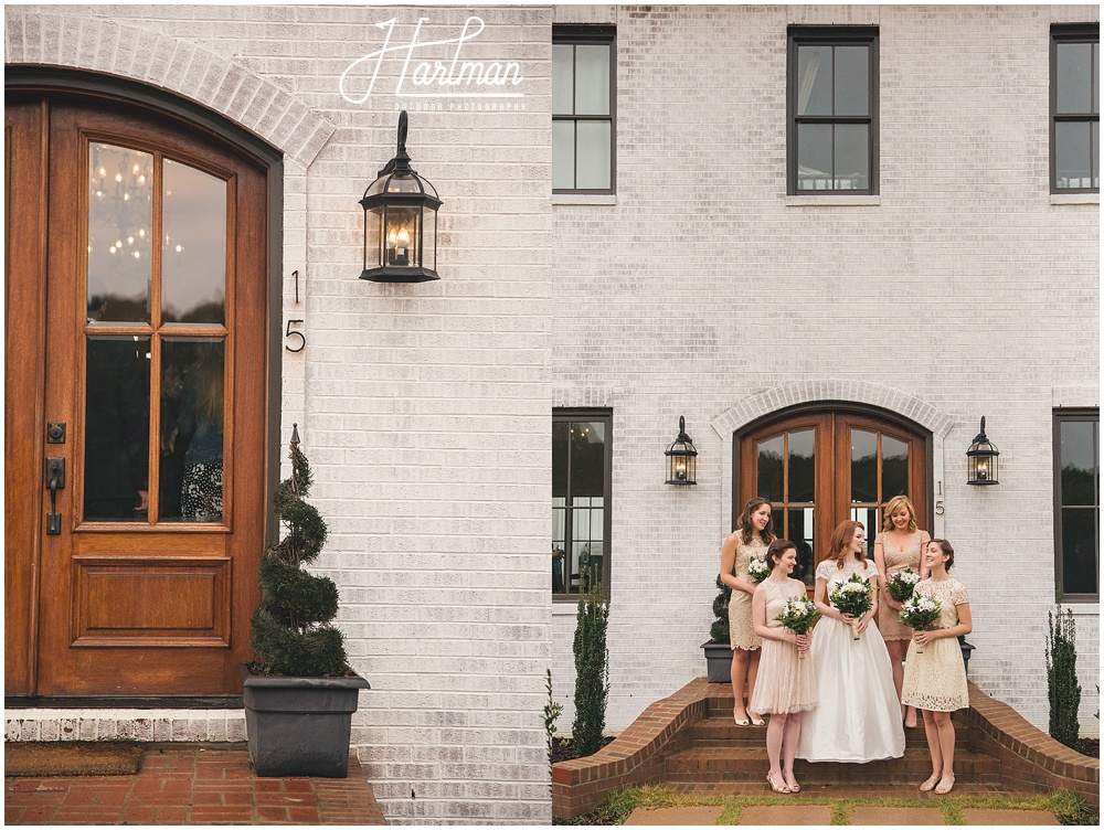 Raleigh Nc Outdoor Wedding Venue: Rainy Fall Wedding Day At The Bradford